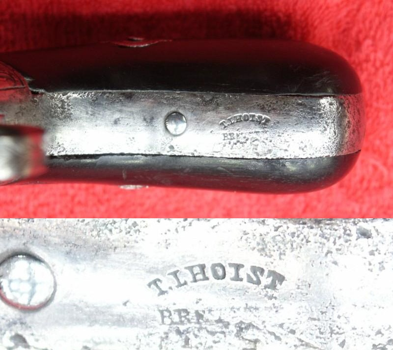 Lhoist 4 shot percussion pepperbox