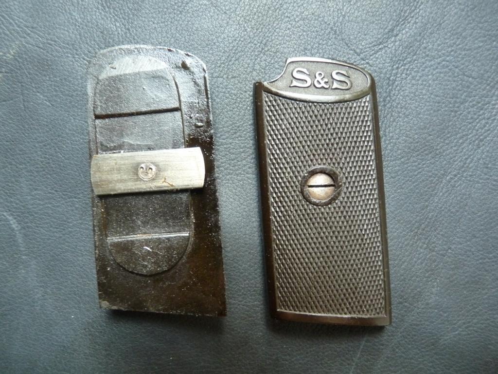 Sauer & Sohn 1913, 1919, 1926 - щечки рукоятки