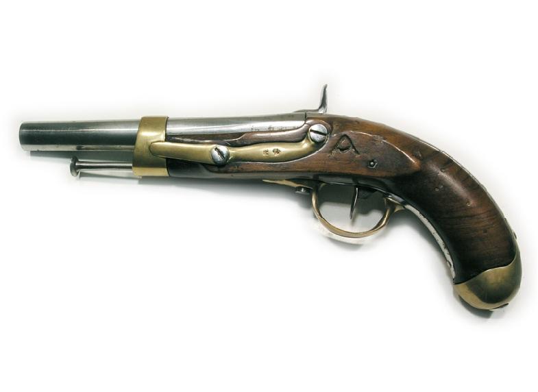 Пистолет итальянский с капсюльным ударным замком