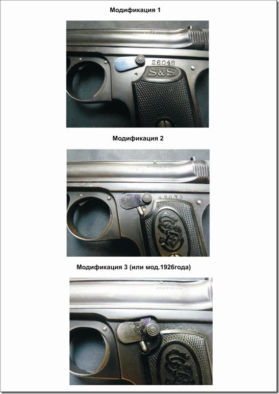Отличия пистолетов Оружие фото