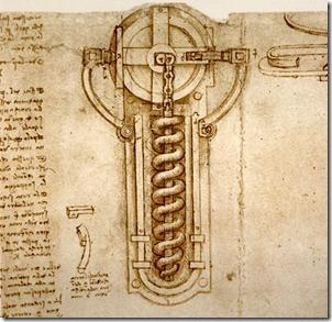 Колесцовый замок Леонардо да Винчи