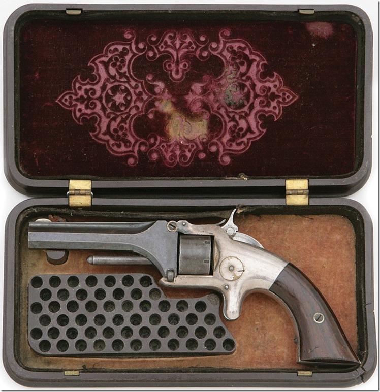 Смит и Вессон (Smith & Wesson) №1 и футляр к нему