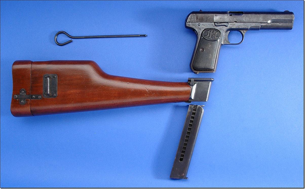 Браунинг 1903 с кобурой-прикладом
