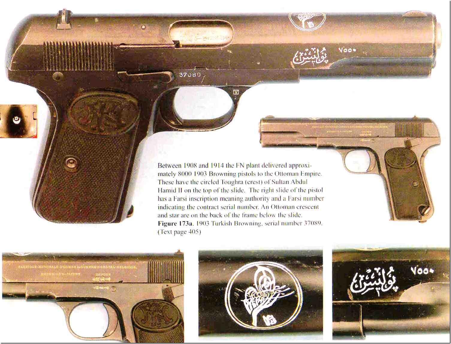 Пистолеты для Турции