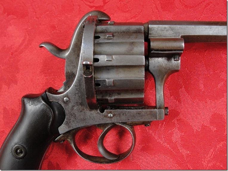 Револьвер Лефоше 12 зарядный