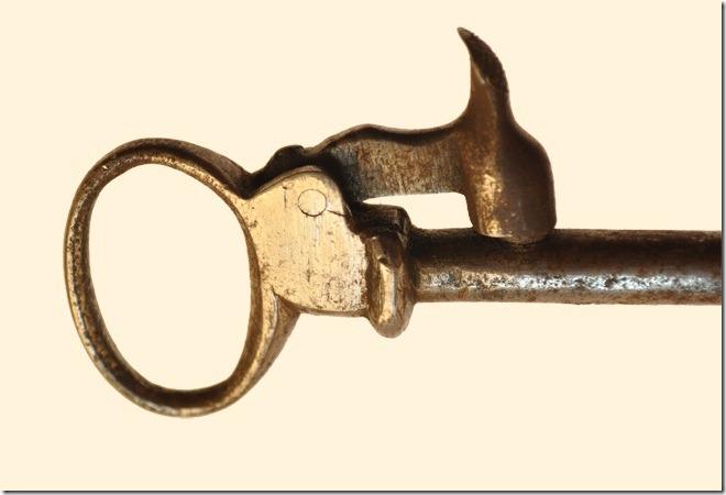 Ключ-пистолет капсюльный