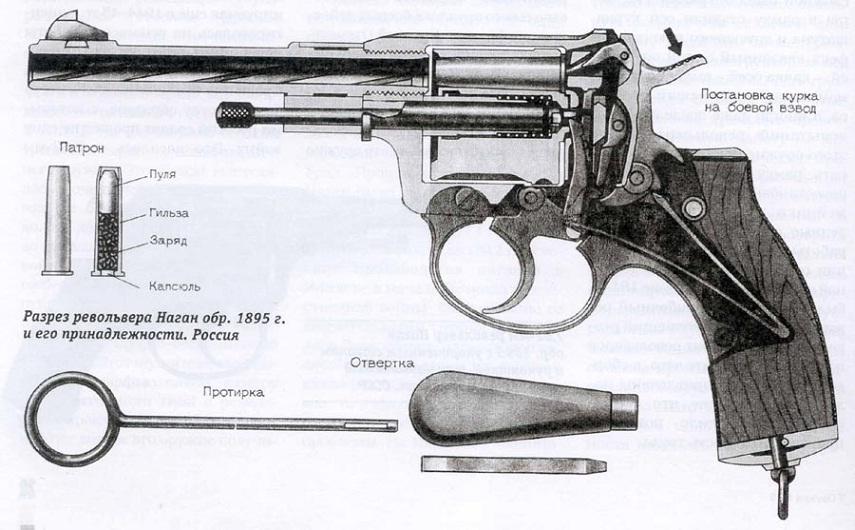 На каждый револьвер Наган