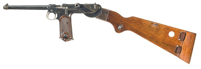 Borchardt Model 1893 Semi Automatic Pistol
