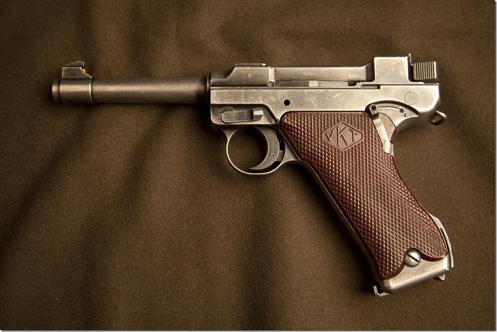 же в 1926 году пистолет.