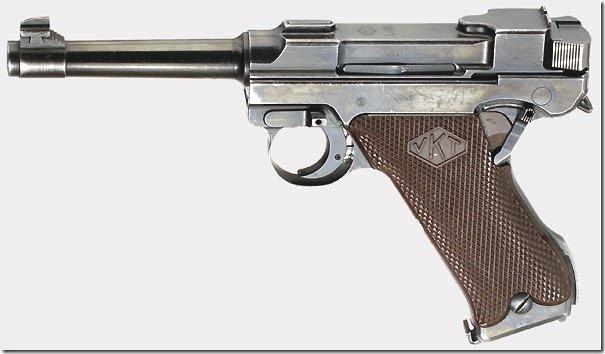 Пистолет Лахти L-35 первой промышленной серии
