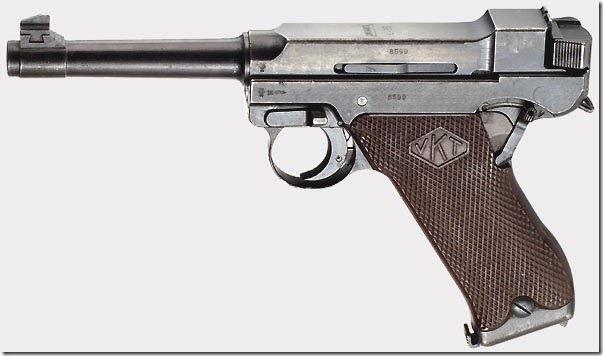 Пистолет Лахти L-35 четвертой промышленной сери