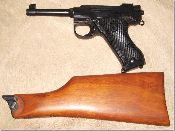 Пистолет с прикладом