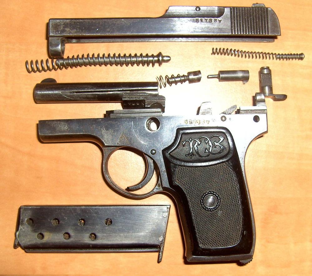 Инструкция изготовления боевого пистолета