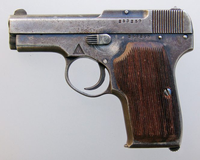 Pistol Korovin second model