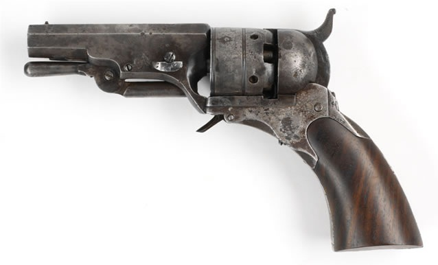 Fifth Model Ehlers Belt Revolver