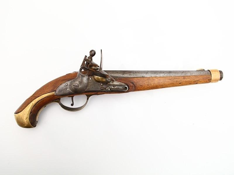 Русский кремнёвый пистолет