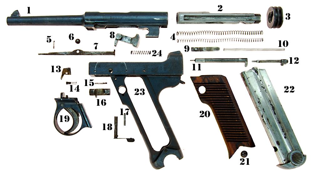 Пистолет Намбу 14