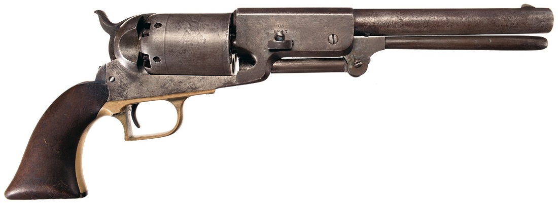 новый револьвер.