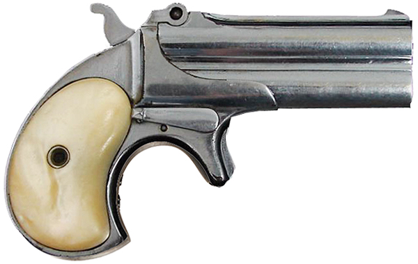 Remington double derringer своими руками
