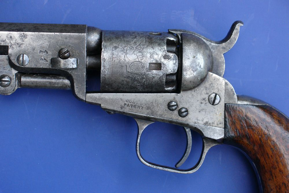 Colt London 1849 pocket revolver