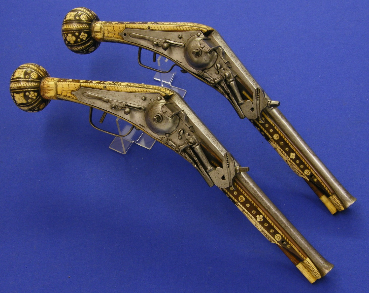 Wheellock Pistols - Puffers