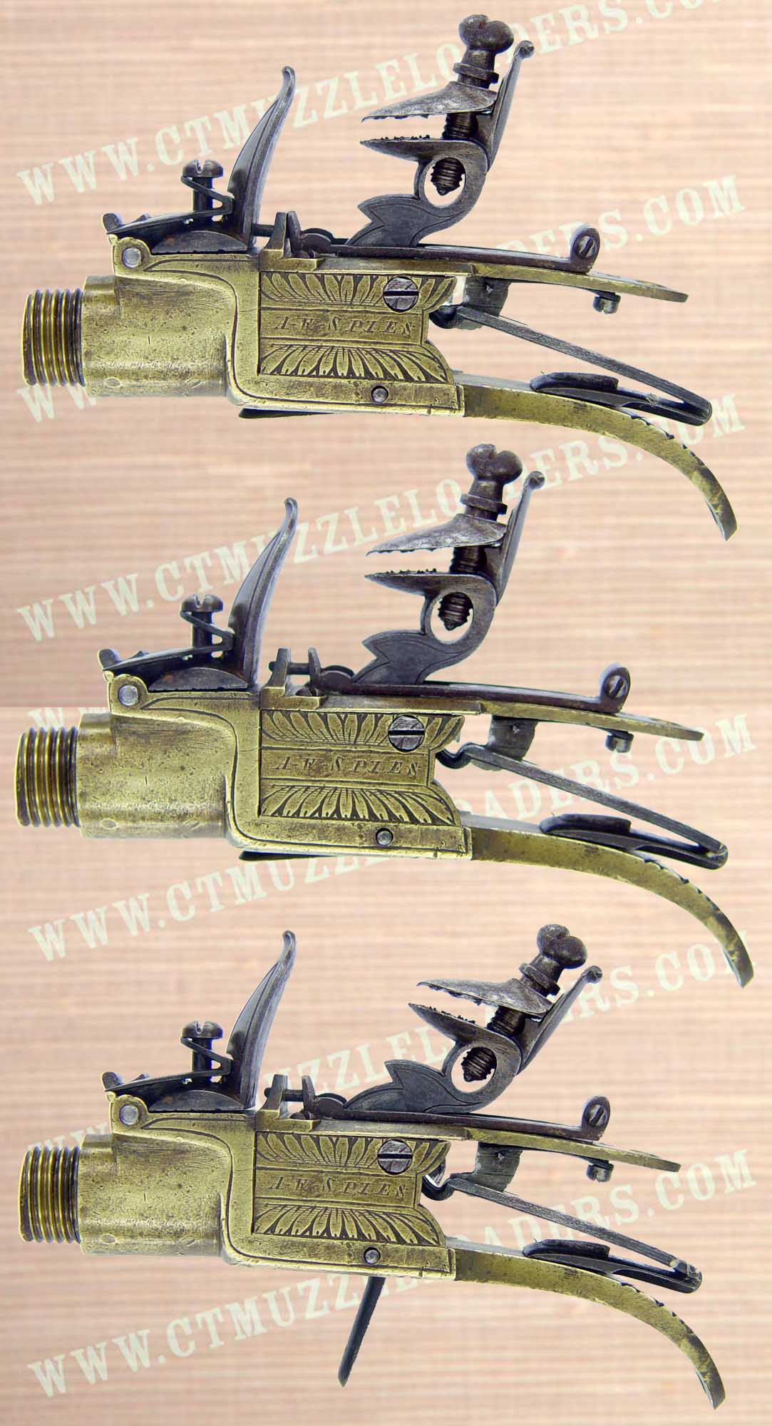 boxlock pistol flintlock