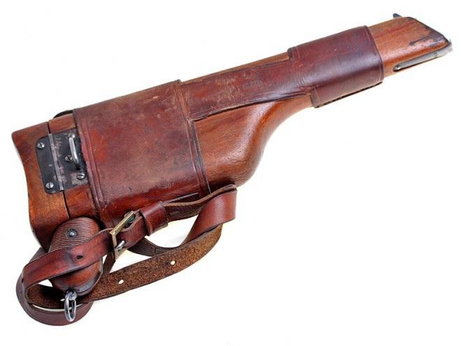 Пистолет Маузер охотно
