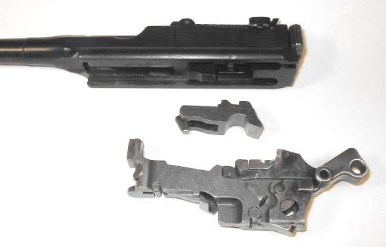 Disassembly of the pistol Mauser C96