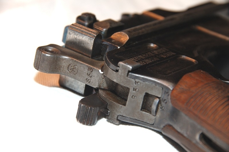 Mauser C96 1916 Prussian Contract