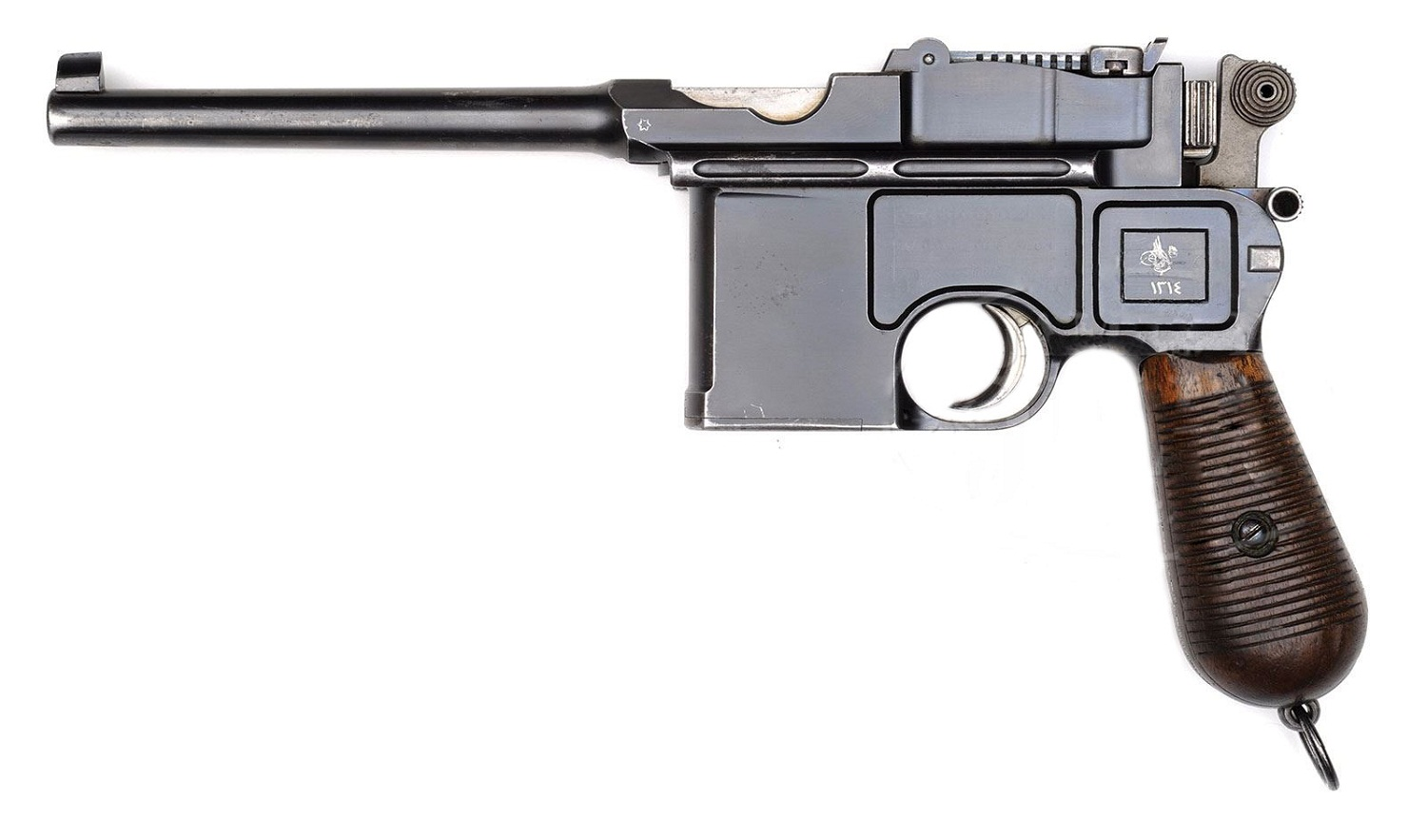 Mauser C96 contract for Cone Hammers was a Turkish