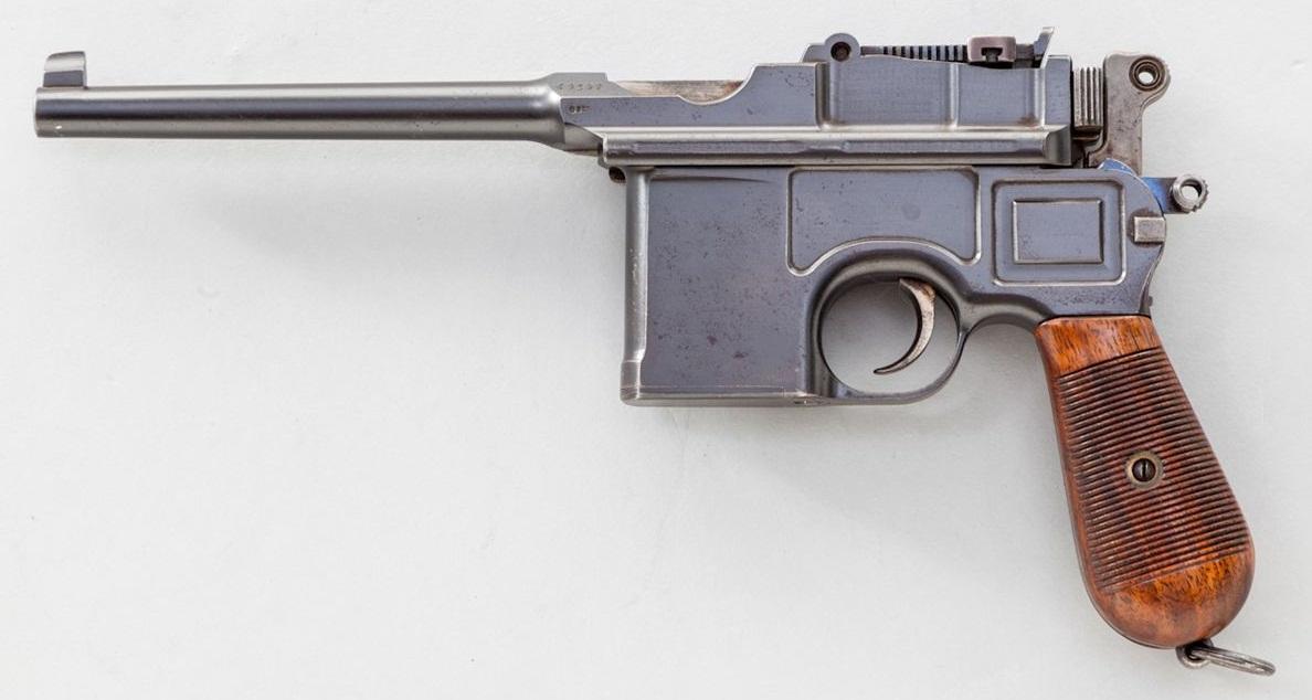 Маузер К-96 довоенной коммерческой модели (кликните по изображению, чтобы увидеть фото полного размера)