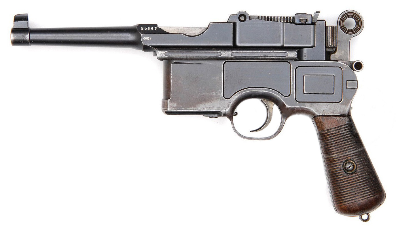 Mauser C96 Large Ring Hammer Bolo
