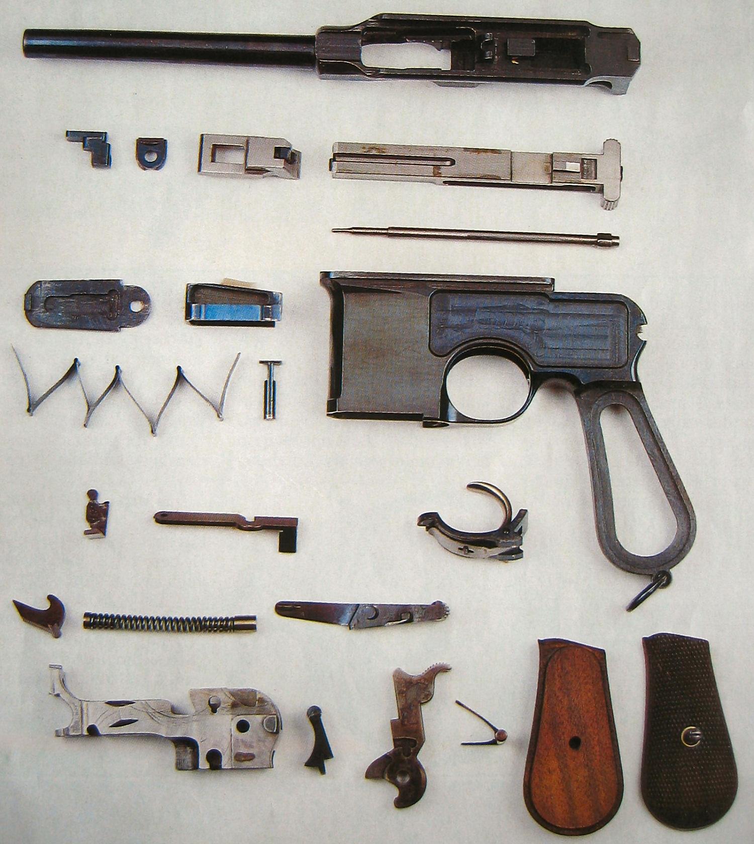 Mauser C96 prototype 1895
