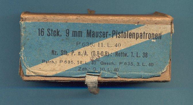 9mm Mauser Export