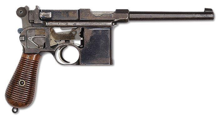 Все разновидности пистолетов