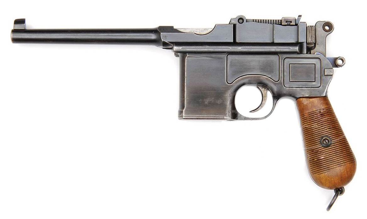 Mauser C96 Pre-war Commercial 9mm Mauser Export