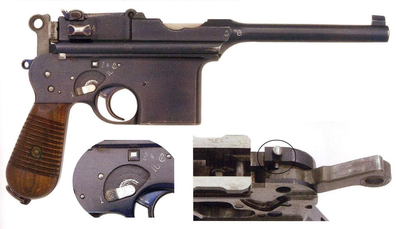 Pistole Astra Model 901