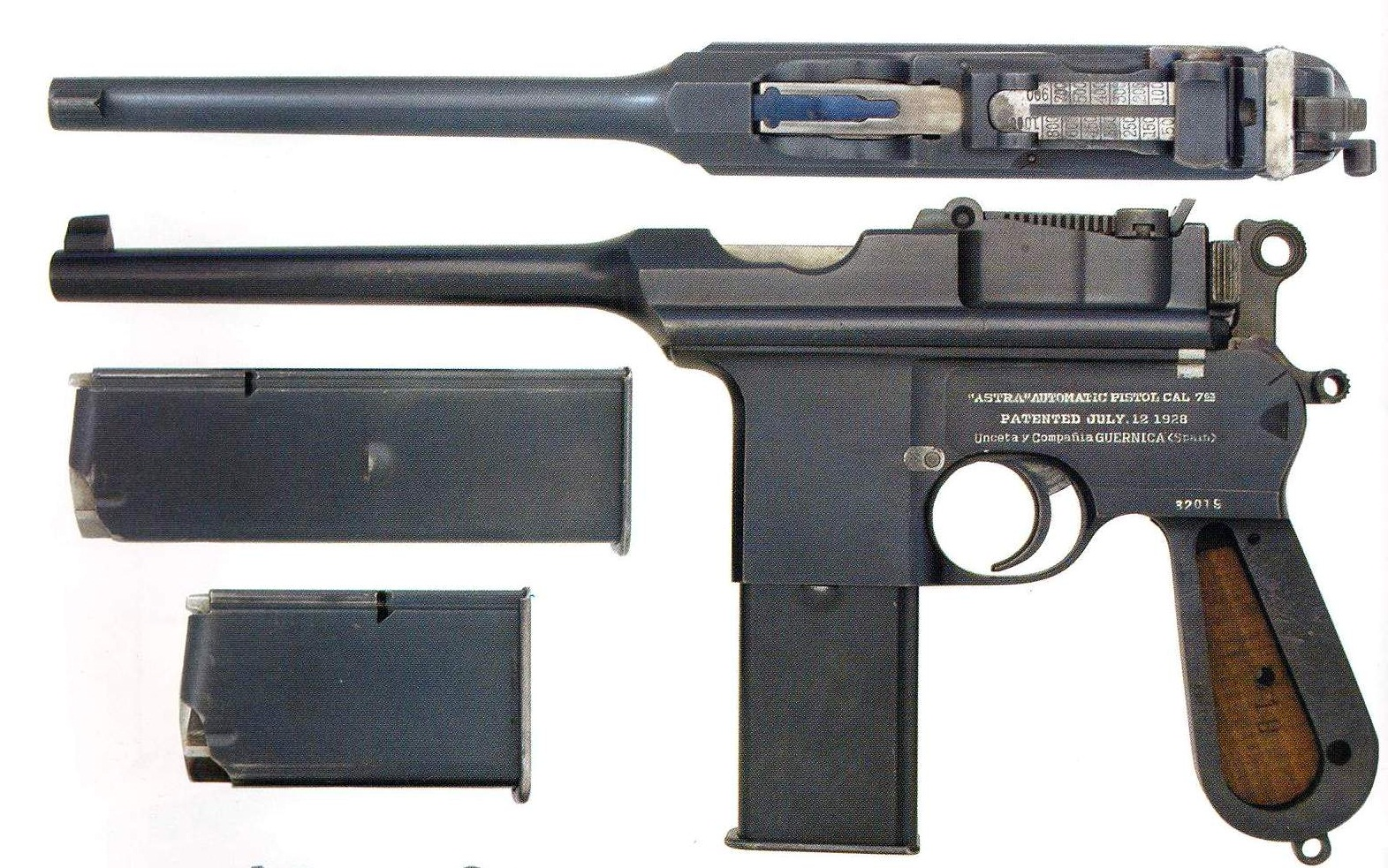 Pistole Astra Model 903