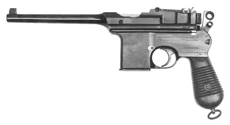 Pistole Astra Model 904