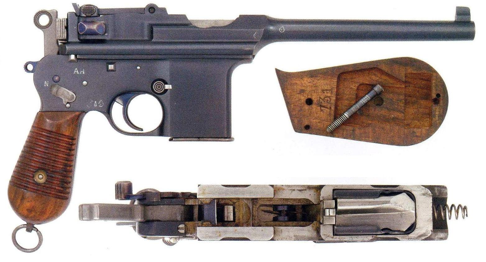 Pistole Astra Model F