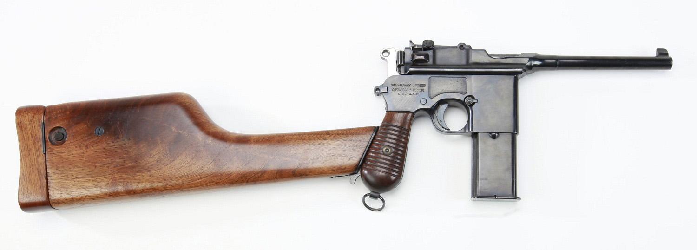Mauser C96 Schnellfeuer