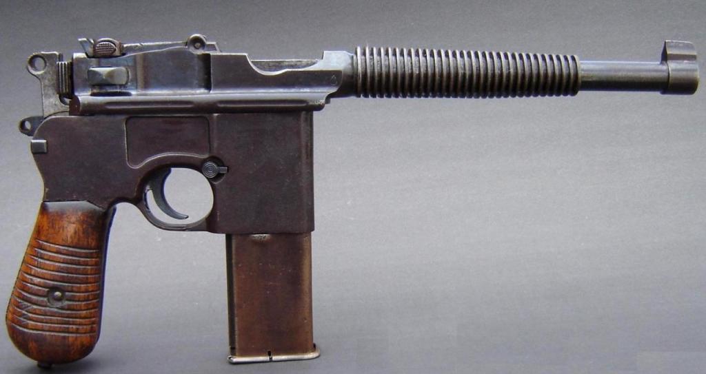 Копии и прототипы пистолетов Маузер К-96 Испанского ...