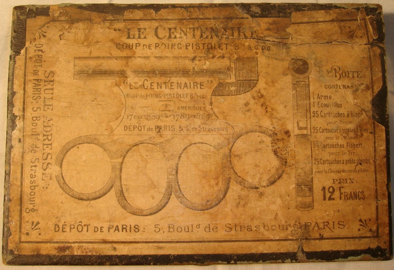 Pistol - knuckle duster Le Centenaire