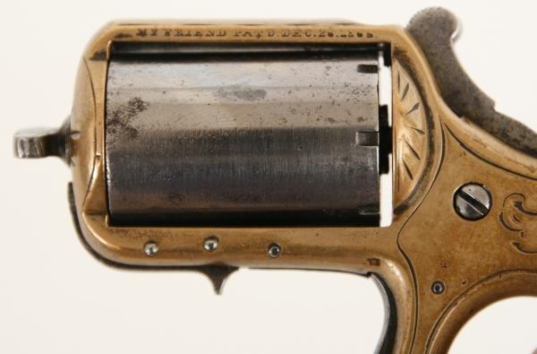 James Reid Knuckle-Duster Revolver My Friend .22