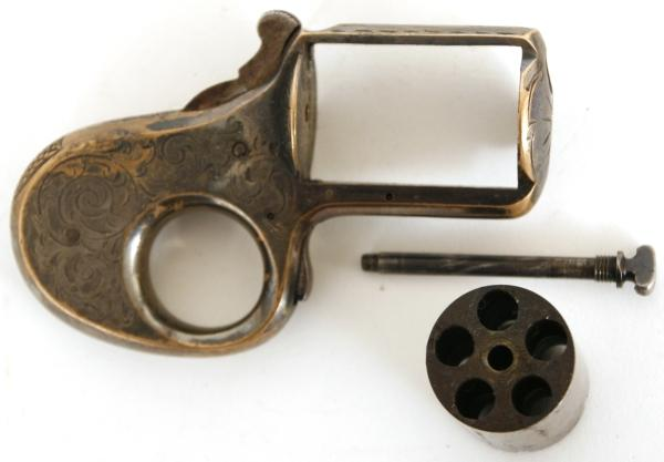 James Reid Knuckle-Duster Revolver My Friend .32
