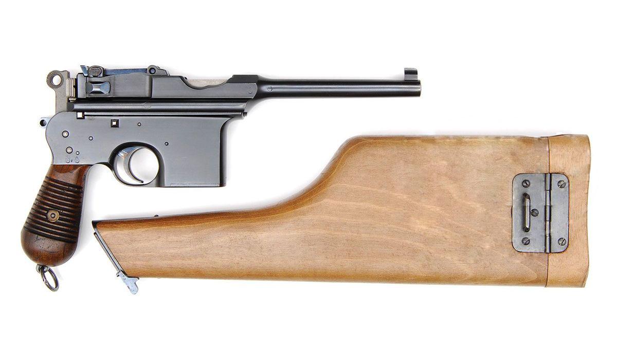 Pistole Astra 900