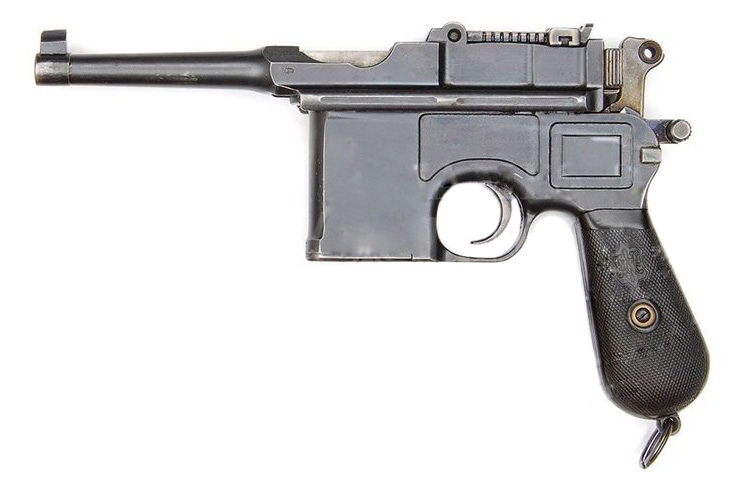 Mauser C96 M1920 French Police Contract