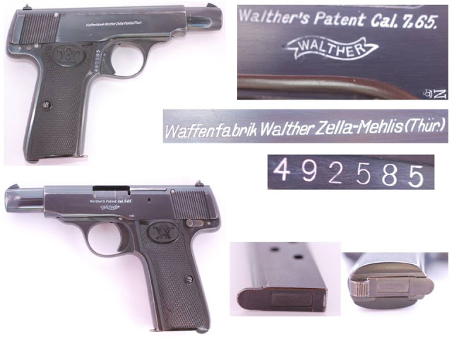Walther model 4 Fourth Variant