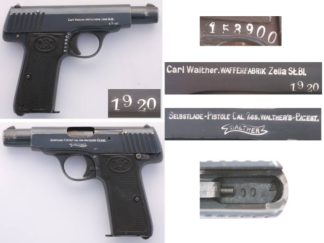 Walther model 4 Second Variant Late