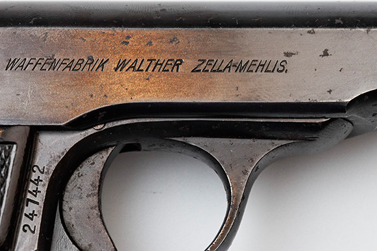 Walther model 4 Third Variant